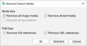 Lucid Builder Remove Feature media dialog