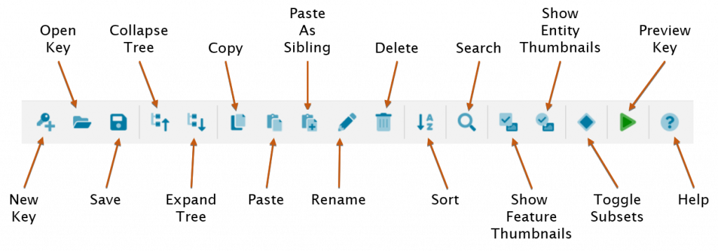 Lucid Builder Main Toolbar
