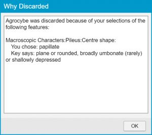 Lucid Player Why Discarded dialog example