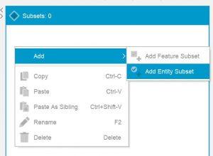 Lucid Builder pathway add subset pop-up context menu