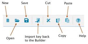 Pathway key importer dialog toolbar